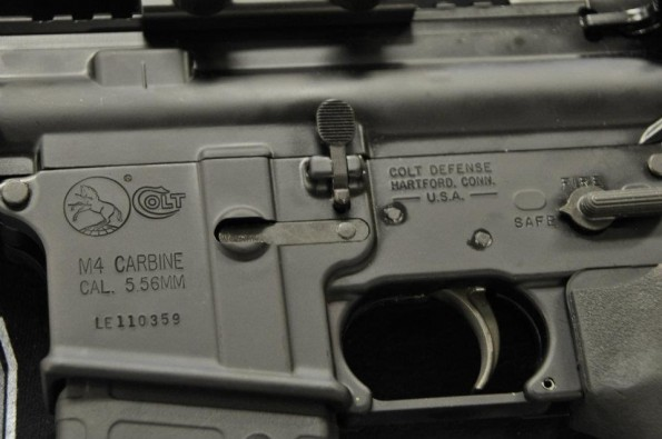 Take Aim Custom Colt Defense M4